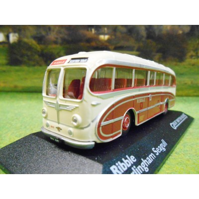 ATLAS CORGI 1/76 BURLINGHAM SEAGULLBUS RIBBLE