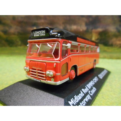ATLAS CORGI 1/76 BMMO CM5T MOTORWAY COACH MIDLAND RED