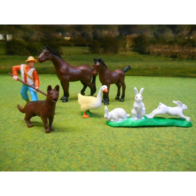 NOREV 1/32 FARM ANIMALS PACK 2