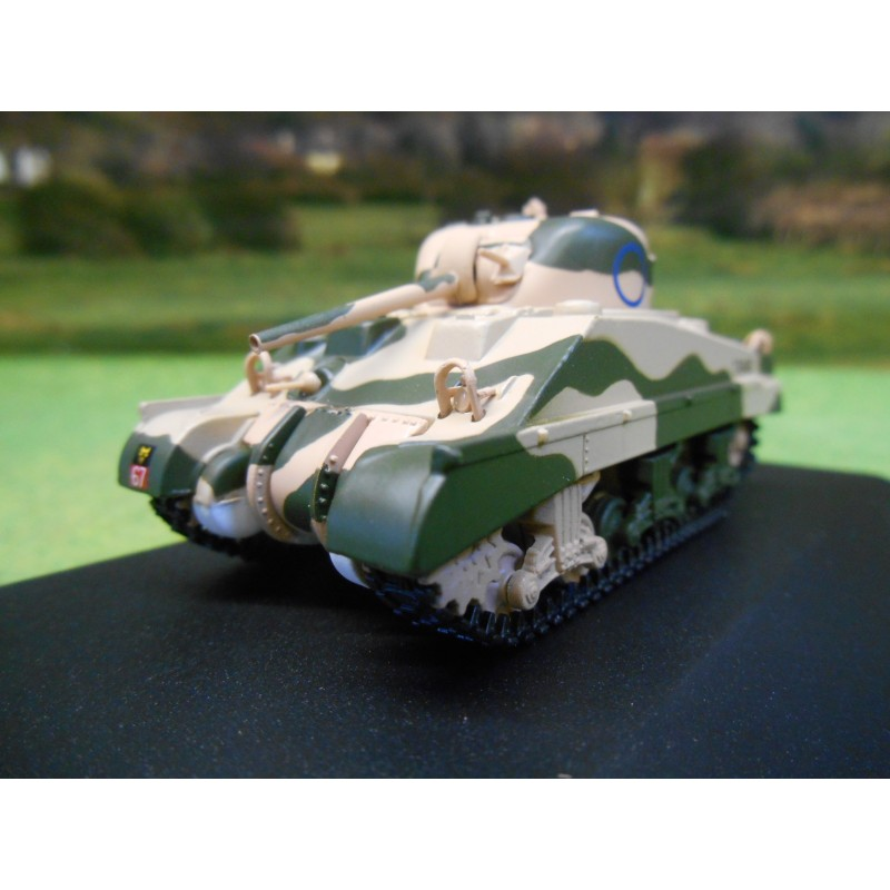 OXFORD 1:76 SHERMAN TANK MK3 10th ARMOURED DIVISION