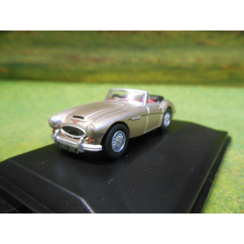 OXFORD 1:76 AUSTIN HEALEY MK3 METALIC GOLDEN BEIGE