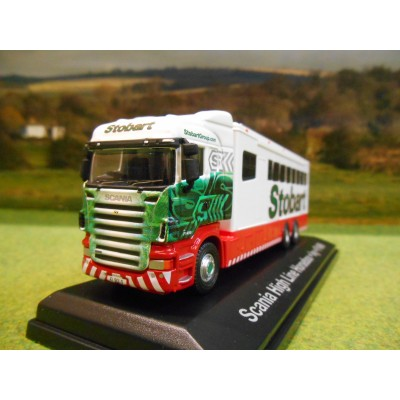 ATLAS OXFORD EDDIE STOBART SCANIA HIGHLINE POLO HORSEBOX 1:76
