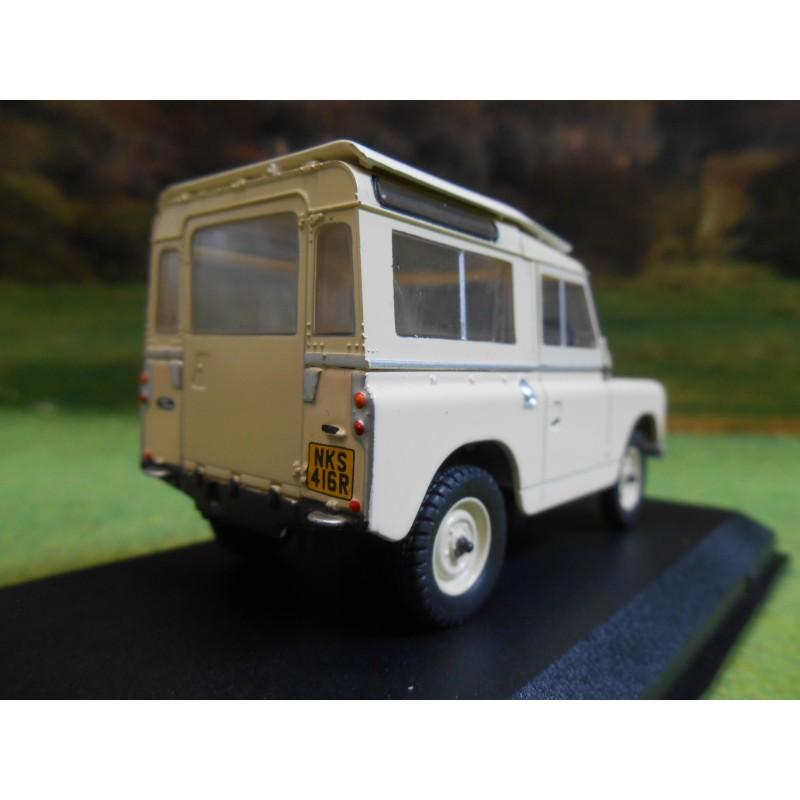 oxford 1:43 landrover series 3 swb station wagon limestone - one32