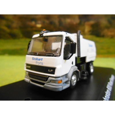 ATLAS OXFORD 1:76 STOBART PORTS DAF LF JOHNSON 600 ROAD SWEEPER