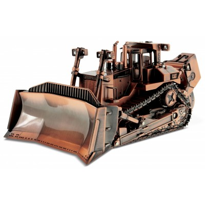 CATERPILLAR 1/50 COPPER FINISH D11R BULLDOZER ON METAL TRACKS