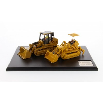 CATERPILLAR 1/50 977D TRAXCAVATOR & 963K TRACK LOADER SET
