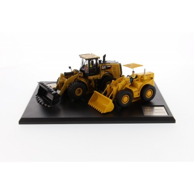 CATERPILLAR 1/50 966A WHEEL LOADER & 966M WHEEL LOADER SET