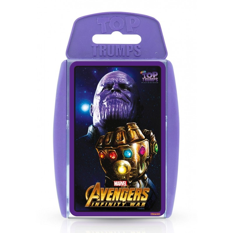 TOP TRUMPS - AVENGERS INFINITY WAR CARD GAME