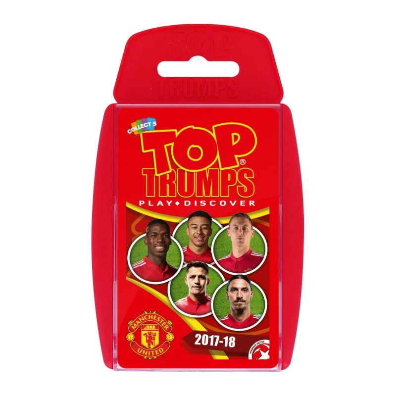 TOP TRUMPS - MANCHESTER UNITED FOOTBALL CLUB 2017/18 CARD GAME