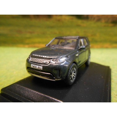 OXFORD 1:76 LAND ROVER DISCOVERY 5 HSE LUX IN SANTORINI BLACK