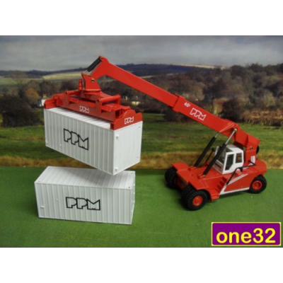JOAL 1:50 DIECAST PPM 40 TON SUPER STACKER CONTAINER CRANE