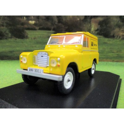 OXFORD 1:43 LANDROVER SERIES 3 SWB HARDTOP AA SERVICE