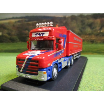 OXFORD 1:76 SCANIA T CAB & CURTAINSIDER JH YATES & SON TRUCK