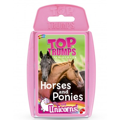 TOP TRUMPS - HORSES & PONIES & UNICORNS CARD GAME