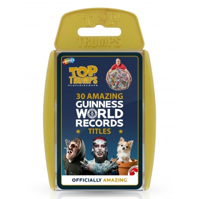 TOP TRUMPS - GUINNESS WORLD RECORDS CARD GAME