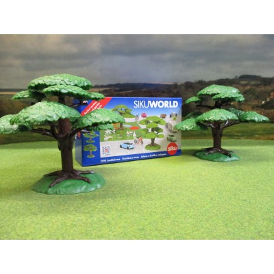 SIKU WORLD DECIDUOUS TREES SET 1/32