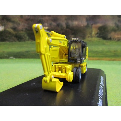 ATLAS OXFORD 1:76 STOBART RAIL COLMAR T10000FS ROAD RAIL EXCAVATOR