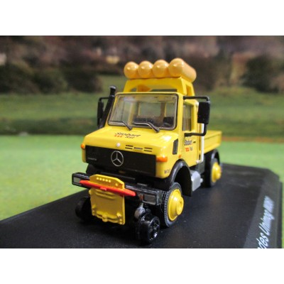 ATLAS OXFORD 1:76 STOBART RAIL MERCEDES U1850 ROAD/RAIL UNIMOG