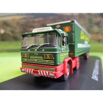 ATLAS 1:76 EDDIE STOBART 1974 DAF F2200 TWIN AXLE CURTAINSIDER
