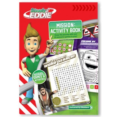 EDDIE STOBART STEADY EDDIE KIDS ACTIVITY BOOK