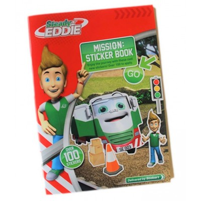 EDDIE STOBART STEADY EDDIE KIDS STICKER BOOK