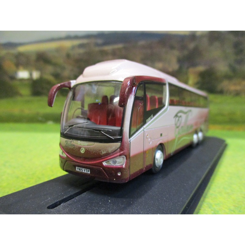 OXFORD 1:76 SCANIA IRIZAR I6 COACH GALLEON TRAVEL