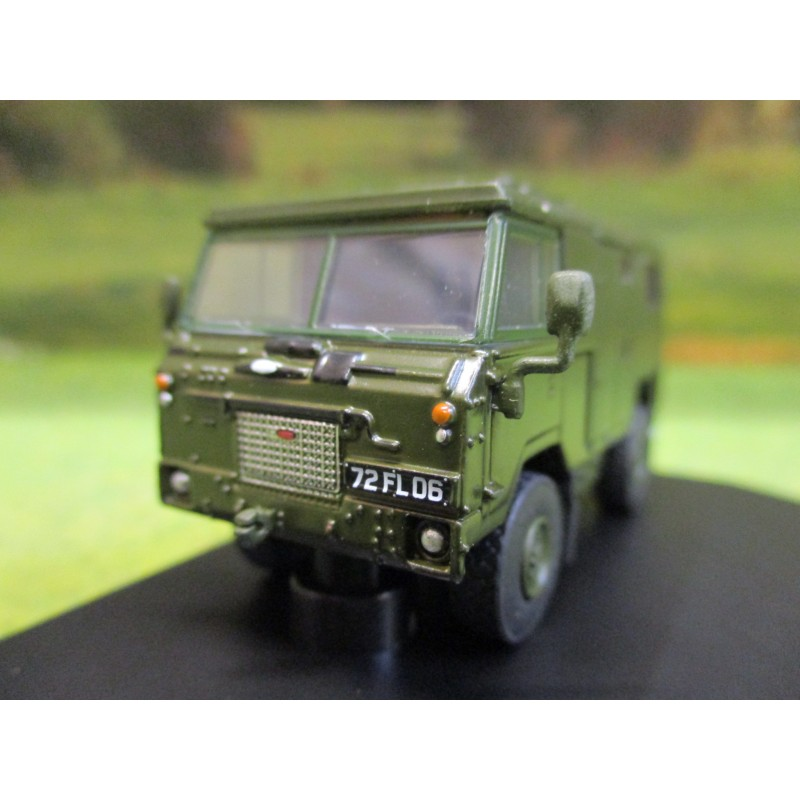 OXFORD 1:76 LANDROVER 101 FORWARD CONTROL ARMY FC SIGNALS NATO GREEN