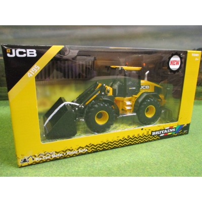 BRITAINS 1:32 JCB 419S WHEEL LOADER WITH BUCKETS IN YELLOW JCB BOX