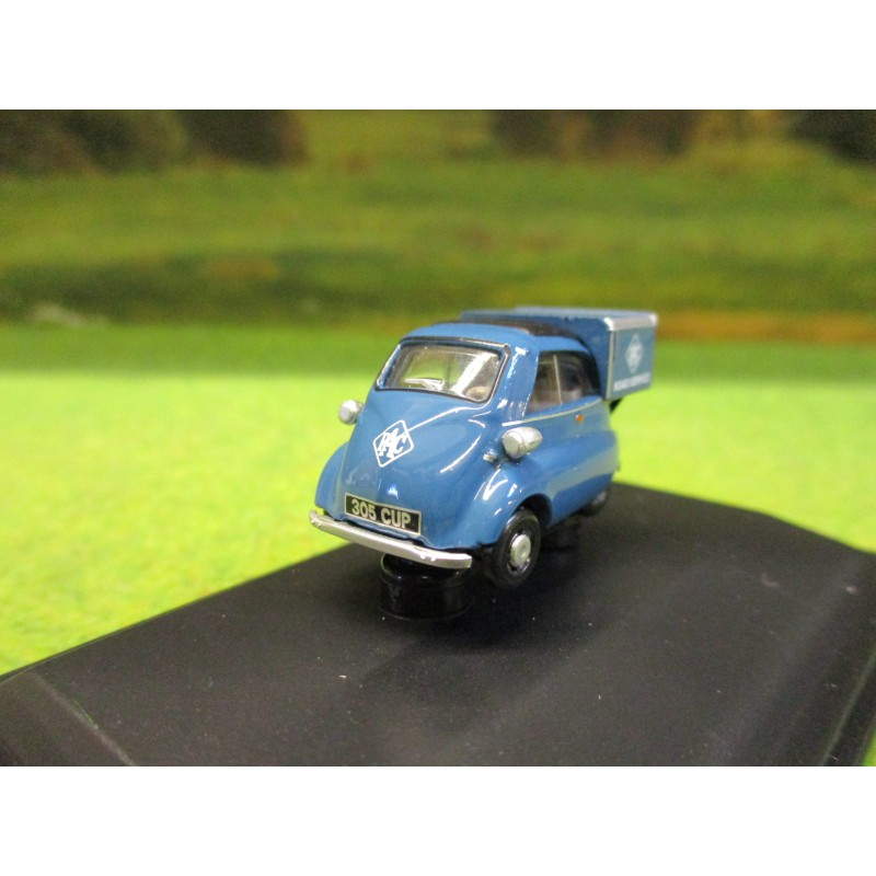 OXFORD 1:76 BMW ISETTA RAC ROAD SERVICE