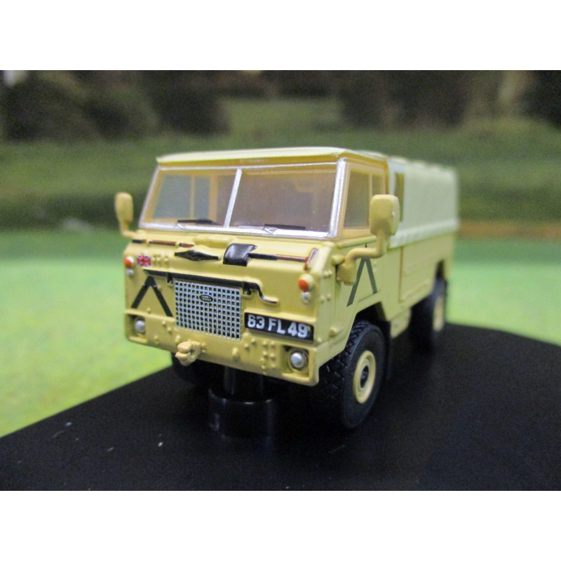 OXFORD 1:76 LANDROVER 101 FORWARD CONTROL GULF WAR 1991