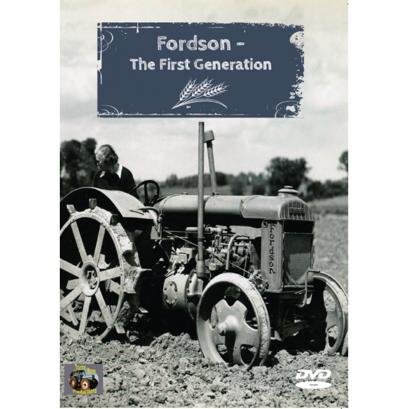 FORDSON THE NEXT GENERATION TRACTOR BARN DVD