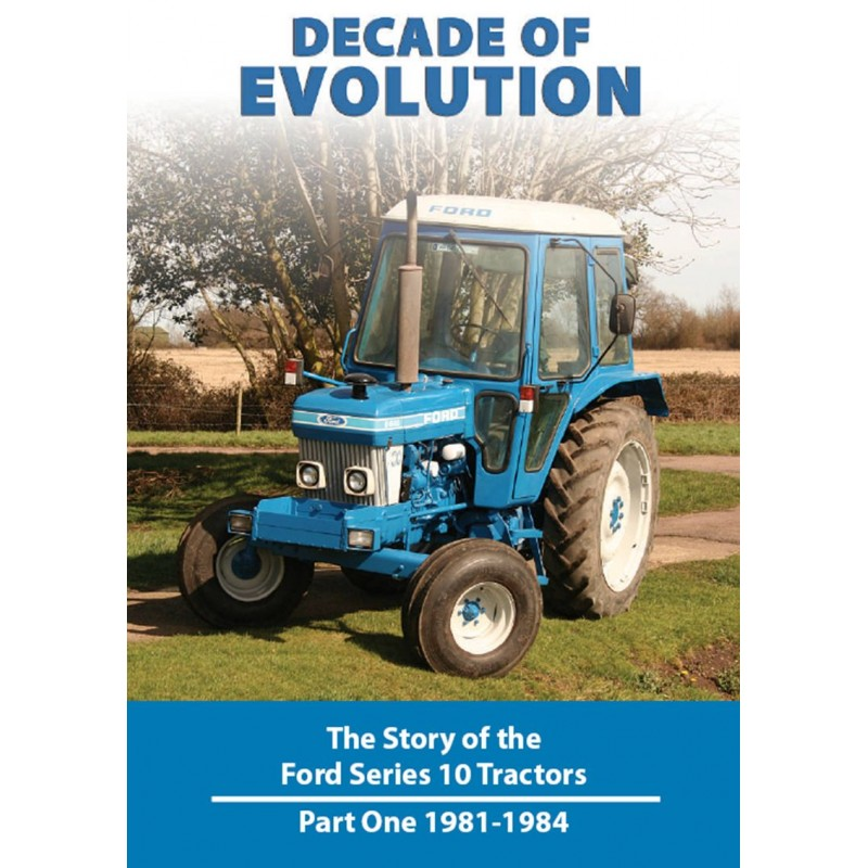 DECADE OF EVOLUTION STORY OF THE FORD SERIES 10 PART 1 (81-84) DVD