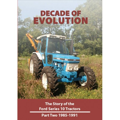 DECADE OF EVOLUTION STORY OF THE FORD SERIES 10 PART 2 (85-91) DVD