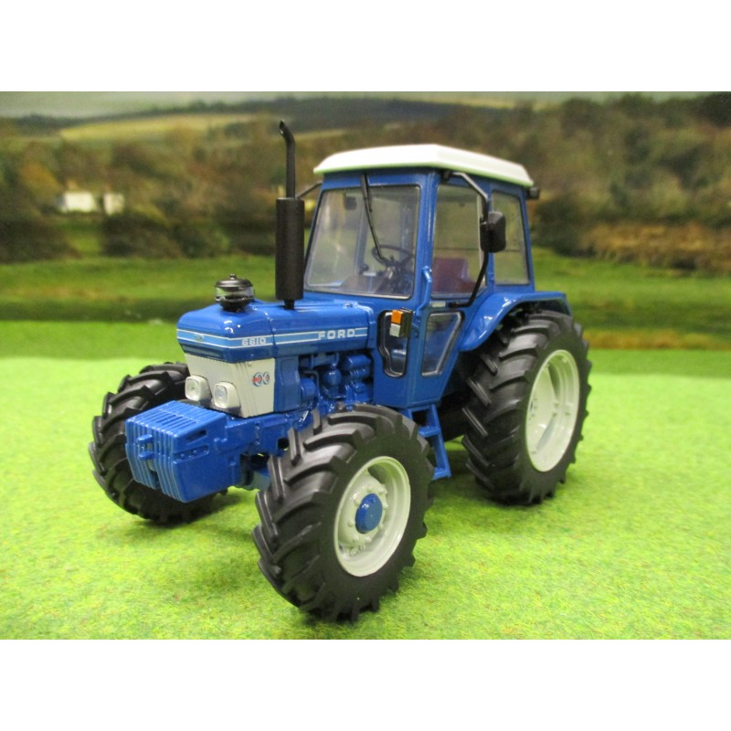 UNIVERSAL HOBBIES 1:32 FORD 6610 4WD GENERATION 1 TRACTOR