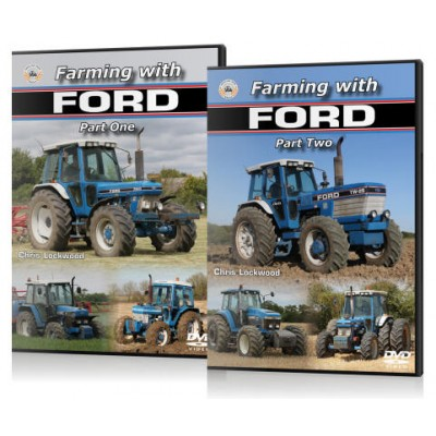 FARMING WITH FORD PART 1 & 2 DVD CHRIS LOCKWOOD
