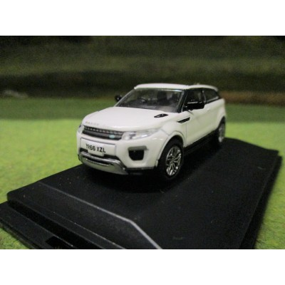 OXFORD 1:76 RANGE ROVER EVOQUE COUPE FACELIFT FIRENZE RED