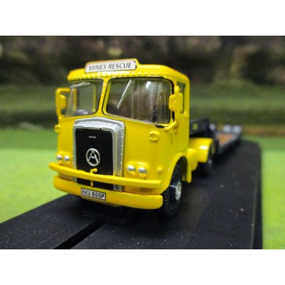 OXFORD 1:76 ATKINSON BORDERER & LOW LOADER NCB MINES RESCUE