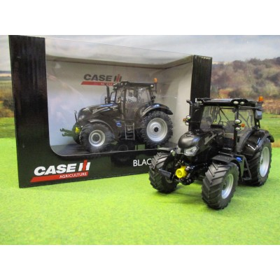 UNIVERSAL HOBBIES 1:32 CASE BLACK BEAUTY MAXXUM 145 4WD TRACTOR