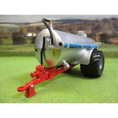 BRITAINS 1:32 NC 2500 SLURRY TANKER FIELD SIDE SILVER