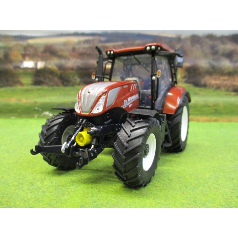 UNIVERSAL HOBBIES 1:32 NEW HOLLAND T6.175 TRACTOR TERRACOTTA LTD EDITION