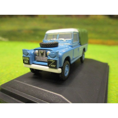 OXFORD 1:76 SERIES 2 LANDROVER LWB BLUEBIRD LAND SPEED RECORD 1960