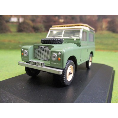 OXFORD 1:43 LAND ROVER SERIES 11A SWB STATION WAGON GREEN
