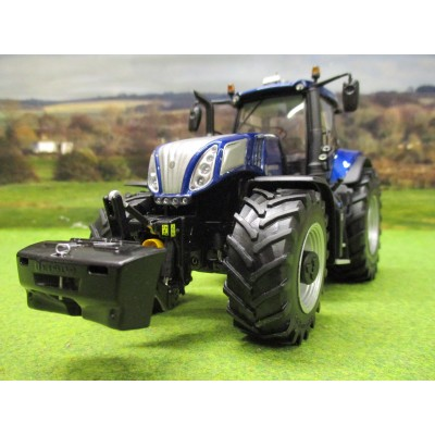 MARGE MODELS 1:32 NEW HOLLAND T8.435 BLUE POWER TRACTOR