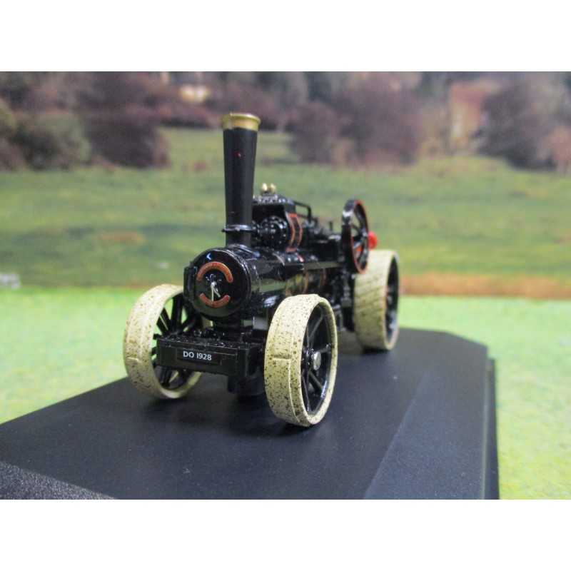 OXFORD 1:76 FOWLER BB1 PLOUGHING ENGINE LOUISA No 15337