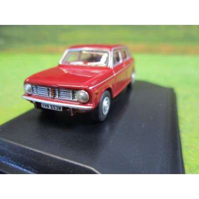 OXFORD 1:76 AUSTIN MAXI DAMASK RED