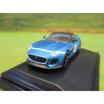 OXFORD 1:76 JAGUAR F TYPE PROJECT 7 ULTRA BLUE