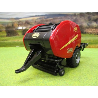 BRITAINS 1:32 VICON FASTBALE ROUND BALER WRAPPER COMBINATION