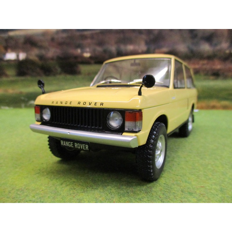 WHITE BOX 1/24 RHD RANGE ROVER CLASSIC MK 1 1972 IN YELLOW