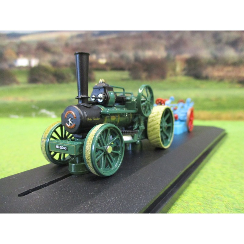 OXFORD GDSF 2019 1:76 FOWLER BB1 PLOUGHING ENGINE & FOWLER PLOUGH