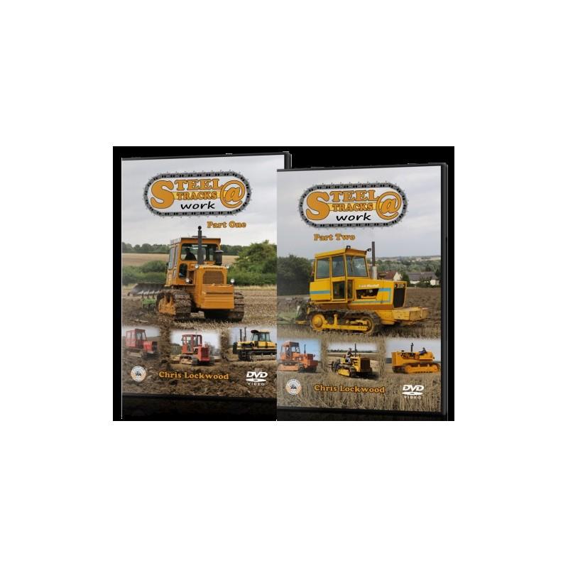 STEEL TRACKS AT WORK PART 1 & PART 2 DVD CHRIS LOCKWOOD